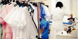 Процесс производства профессиональной одежды