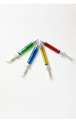 Ручка-шприц
